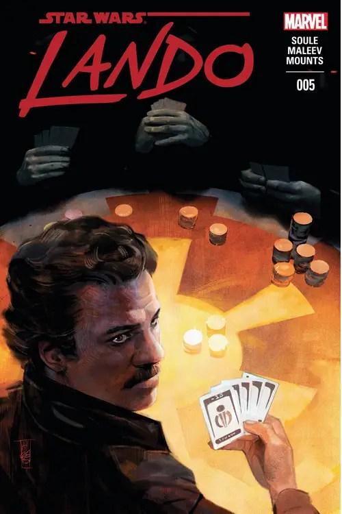 Lando #5 Review