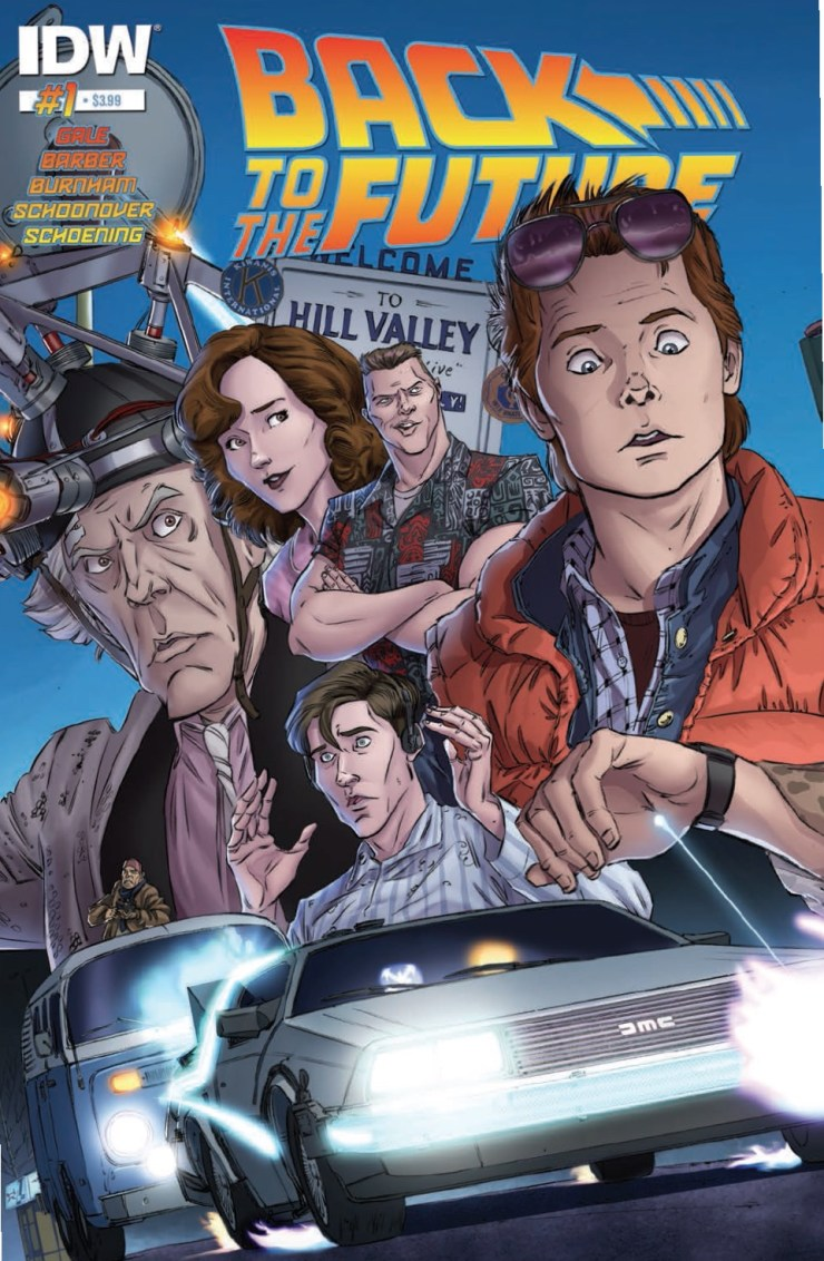 Back to the Future #1 Review