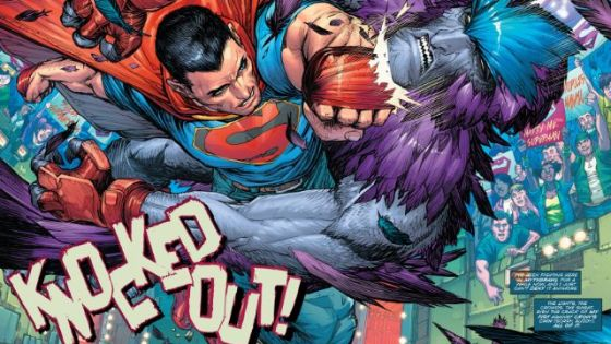 Call me crazy, but I'm really starting to like this new direction Superman is going in. Essentially Supes has joined a god Fight Club which gives him not only the new direction of fighting for something outside of saving lives, but a way in on figuring out Hordr's plans. That's the guy who blackmailed him with his secret identity and screwed up his Clark life royally. The premise is sound, but is it good?
