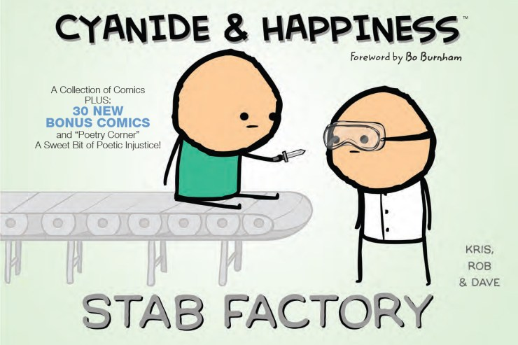 BOOM! Preview: Cyanide & Happiness: Stab Factory TP