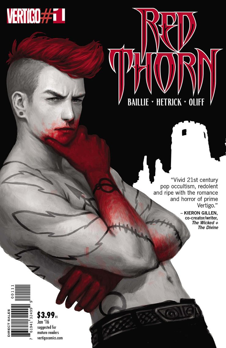 Red Thorn is a new series about a girl whose drawings have the ability to come to life while an ancient god plots his escape. Sounds like it could go just about anywhere—is it good?