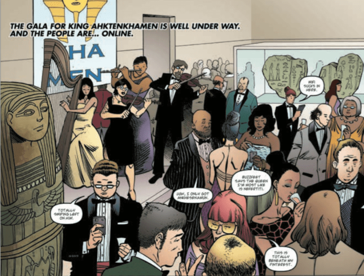 Dirk Gently's Holistic Detective Agency #5 Review