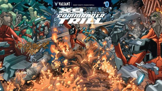 Valiant Preview: X-O Manowar: Commander Trill #0