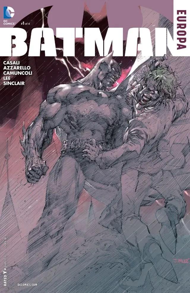 Batman: Europa #1 Review
