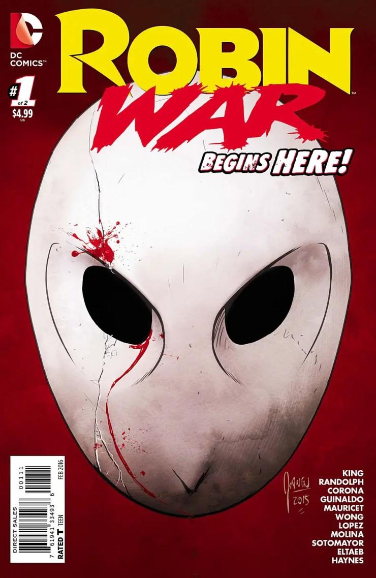 Robin War #1 Review