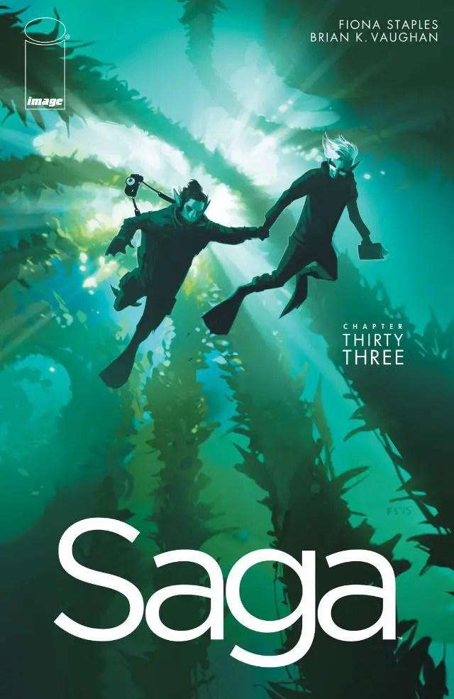 Saga #33 Review