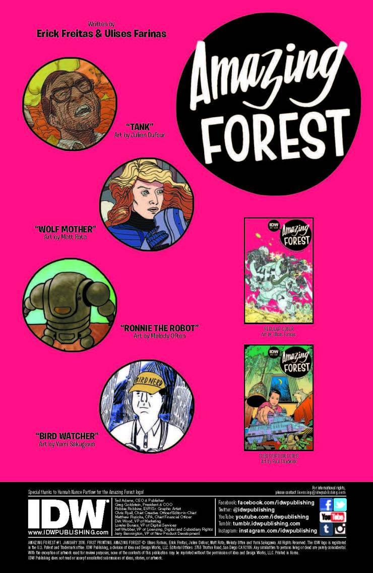 Amazing Forest #1 Review
