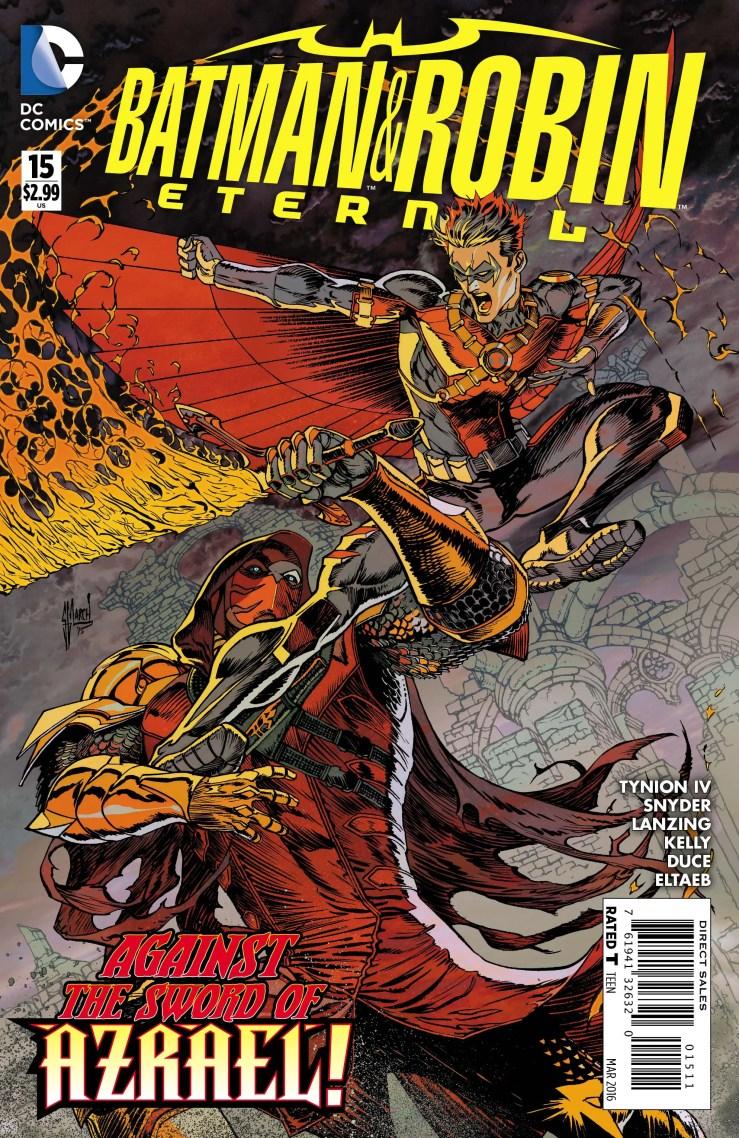 DC Exclusive Preview: Batman & Robin Eternal #15
