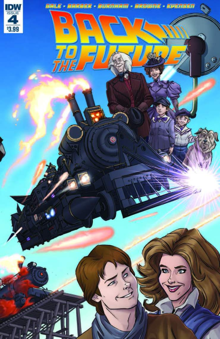 Back to the Future #4 Review
