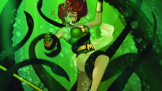 DC Exclusive Preview: Bombshells #27