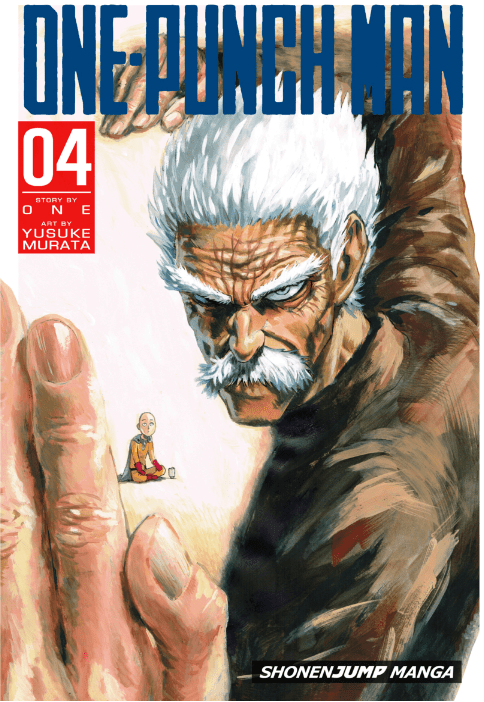 One-Punch Man Volume 4 Review