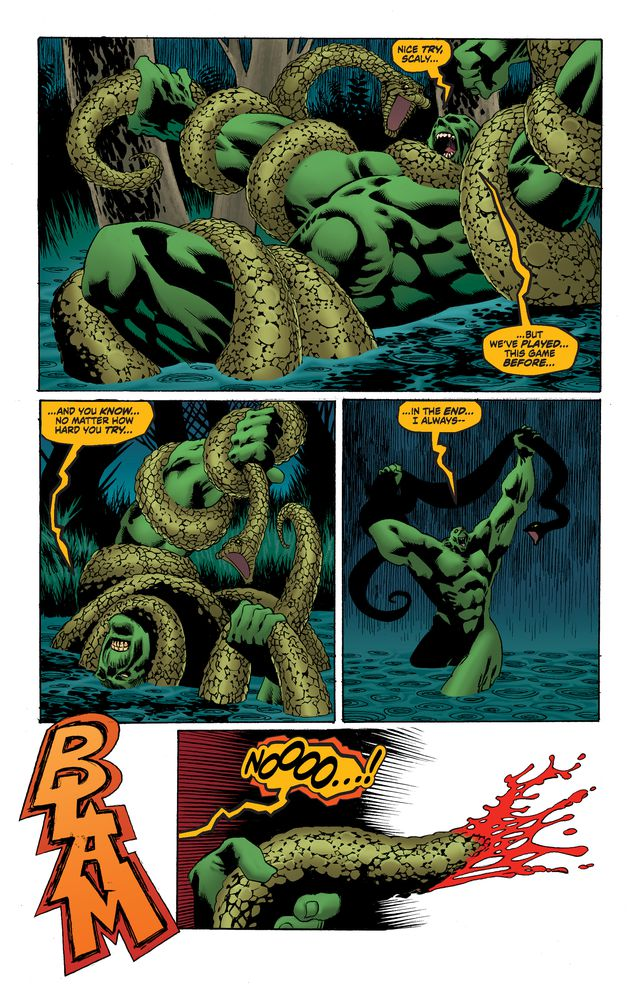 Swamp Thing #3 Review