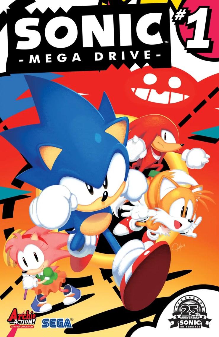 Archie Preview: Sonic: Mega Drive #1