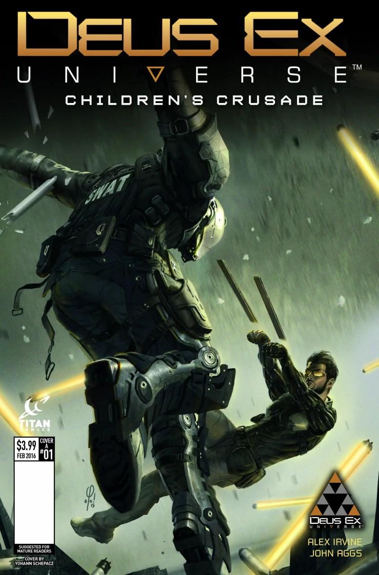Titan Preview: Deus Ex Universe: Children's Crusade #1