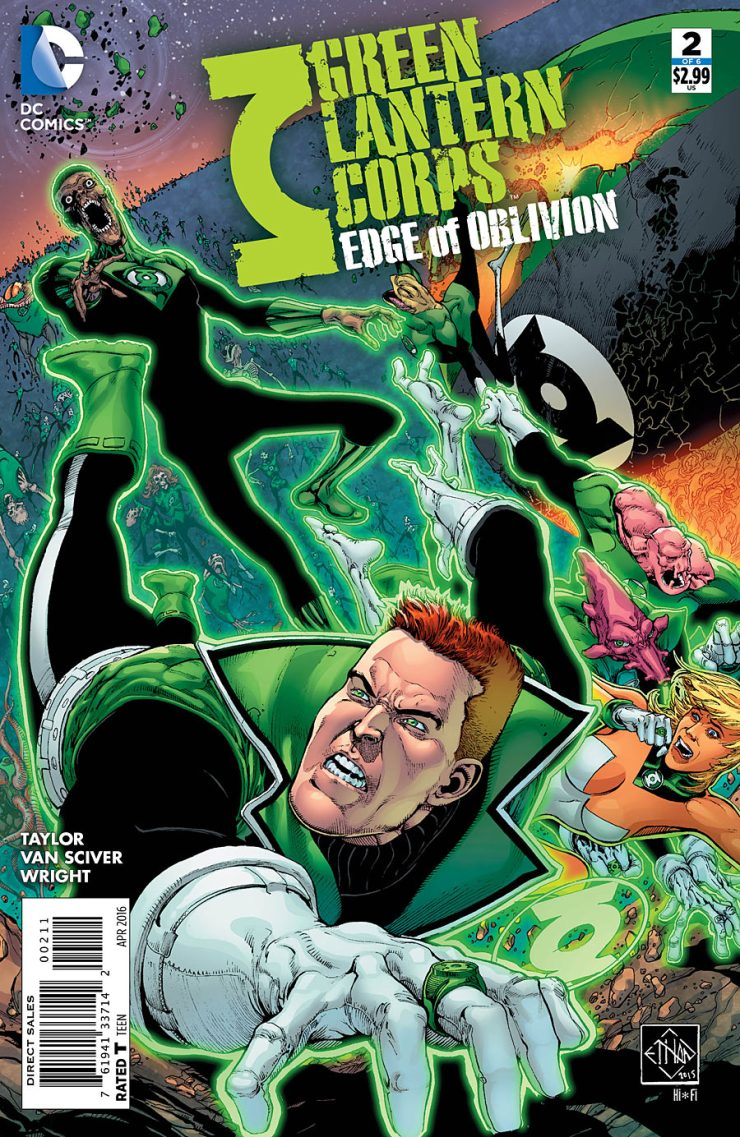 Green Lantern Corps: Edge of Oblivion #2 Review