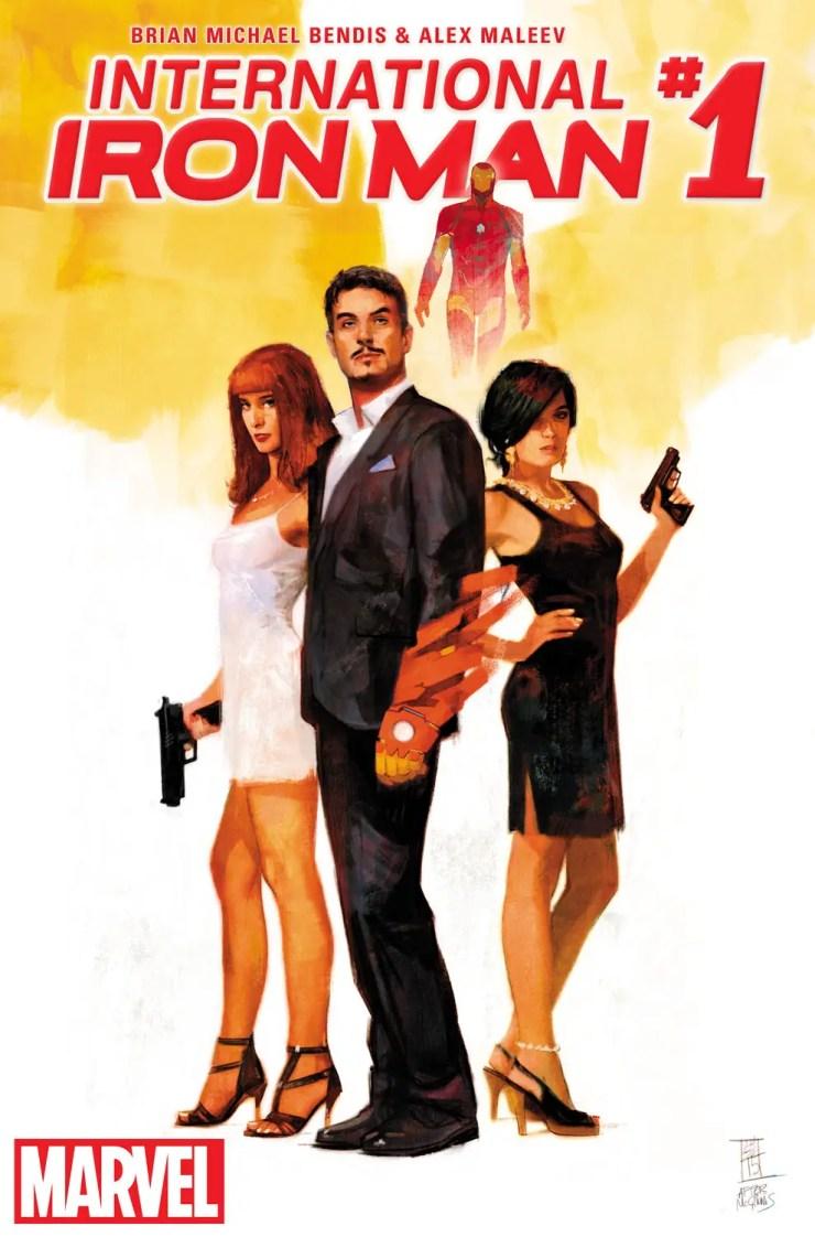Marvel Preview: International Iron Man #1