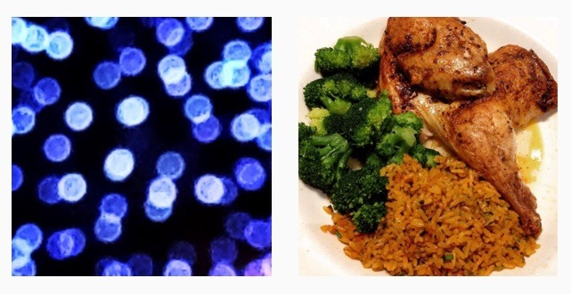"""On December 31, I posted two photos on Instagram - a delectable shot of my half-chicken dinner and a super close-up of exploding blue fireworks. Each image received one """"like"""" apiece."""