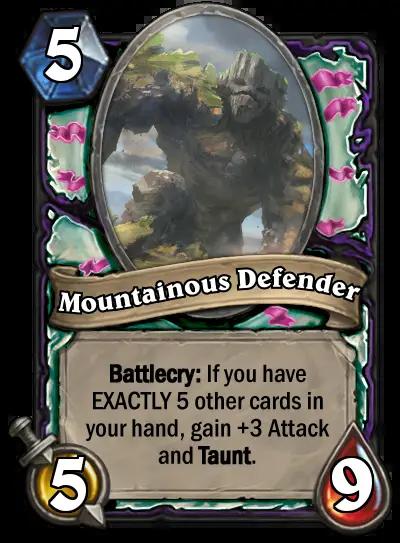 mountainous-defender