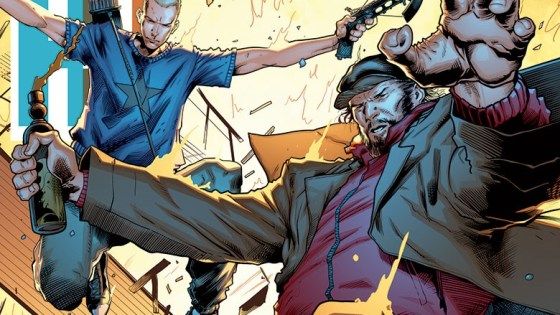 """GET SMASHED…OR BE SMASHED! Valiant's (somewhat) dynamic duo are going """"IN THE BAG"""" for AN ALL-NEW ONGOING SERIES from rising star Rafer Roberts and comic book superstar David Lafuente!"""