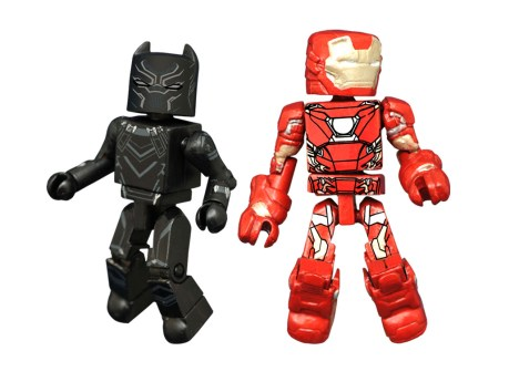 Diamond_Black Panther and IronMan MiniMates TwoPack_Specialty Stores_Spring 2016