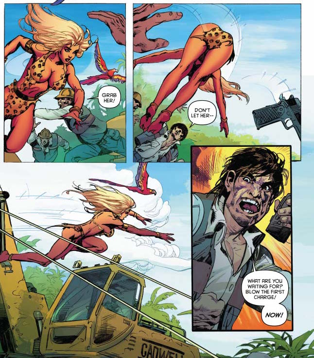 Panels in Poor Taste: 3/21/2016 - Spitting Scorpion Ass-Heads and Eye-Kabobs