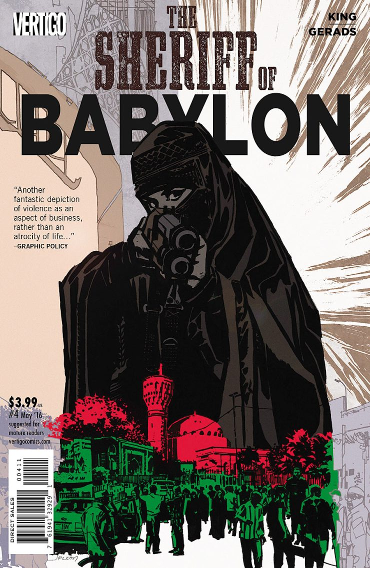 The Sheriff of Babylon #4 Review