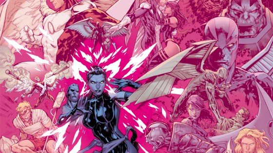 This April, the secrets of Archangel will be revealed as Magneto and his team prepare for war. Today, Marvel is pleased to present your first look inside UNCANNY X-MEN #6 -  the start of the Uncanny X-Men's foray into Apocalypse Wars! Writer Cullen Bunn and artist Ken Lashley take you on a mission to save the life of one of the founding X-Men!