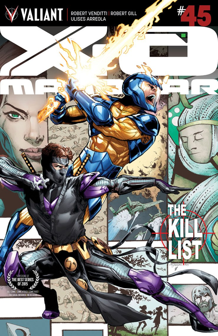 Valiant Preview: X-O Manowar #45