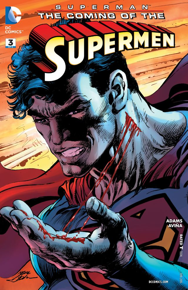 Superman: Coming of the Supermen #3 Review