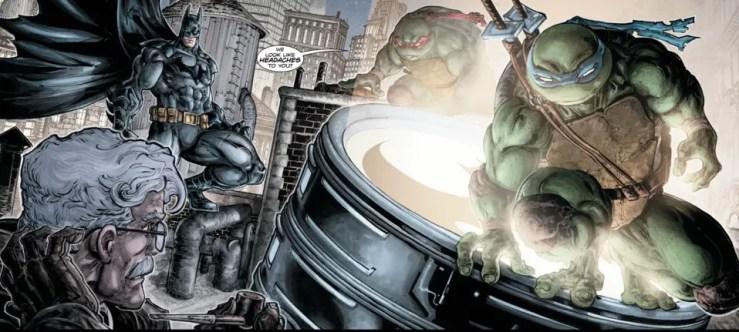 Batman/Teenage Mutant Ninja Turtles #5 Review