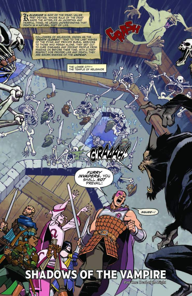 Dungeons & Dragons #1 Review