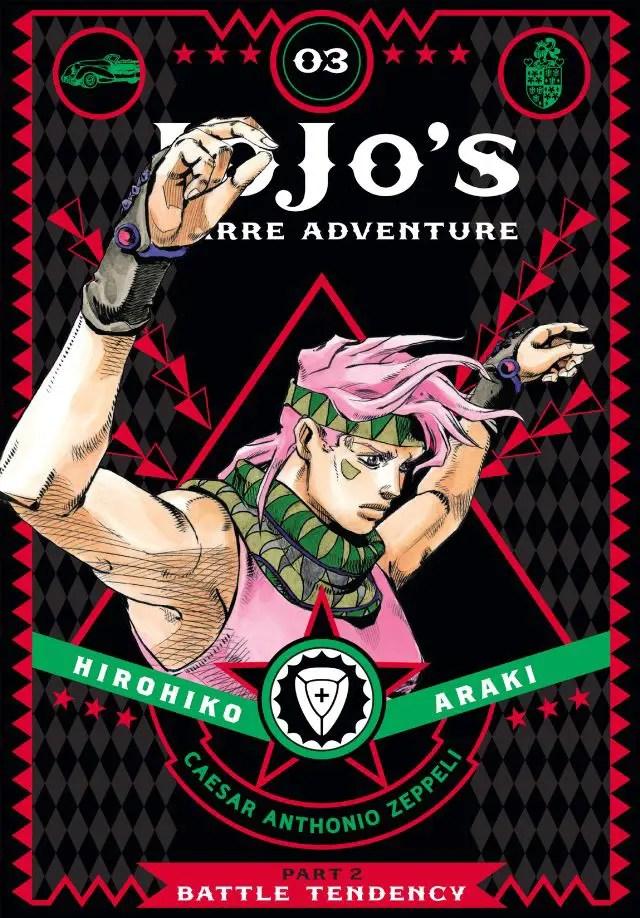 Jojo's Bizarre Adventure: Part 2, Battle Tendency Vol. 3 Review