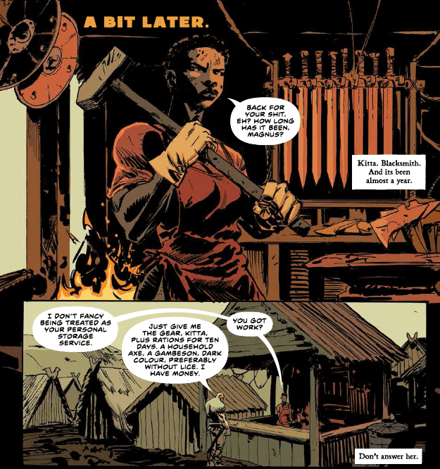 One surefire thing about Brian Wood's comics is you know they'll be well researched. From his excellent Northlanders to his post disaster environmental comic The Massive and of course, his fantastic run on Star Wars -- well thought out stories have been the norm.