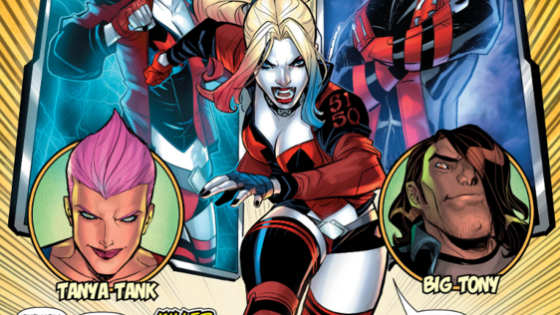 It's Harley vs. Red Tool (hmm, that name sounds vaguely familiar...) in the latest issue of Harley Quinn. A versus issue sounds like fun, but is it good?