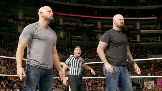 After a week of several surprise debuts, it appeared that every wrestler getting called up from NXT to WWE's main roster had made their first appearance on Raw and Smackdown. Yet this Monday's Raw showed the 'E had one more big surprise in store: the debut of Karl Anderson and Luke Gallows.