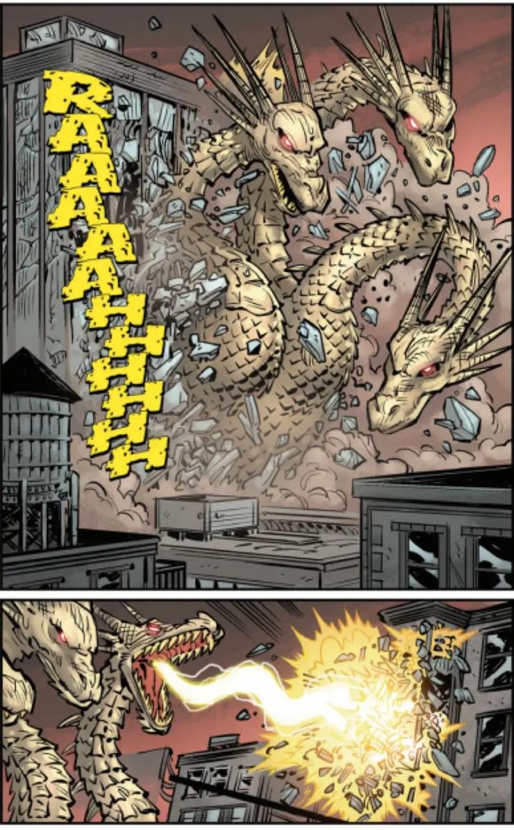 Godzilla: Oblivion #2 Review