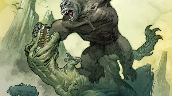 BOOM! Preview: Kong of Skull Island covers