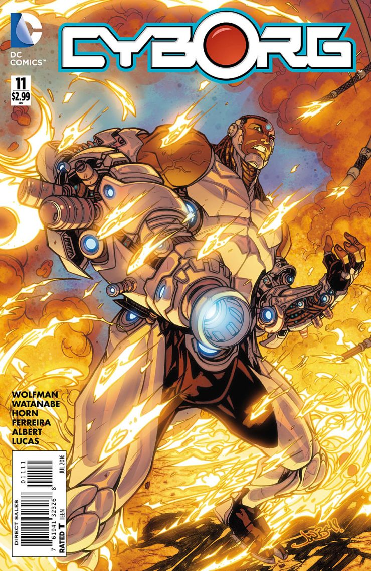Cyborg #11 Review