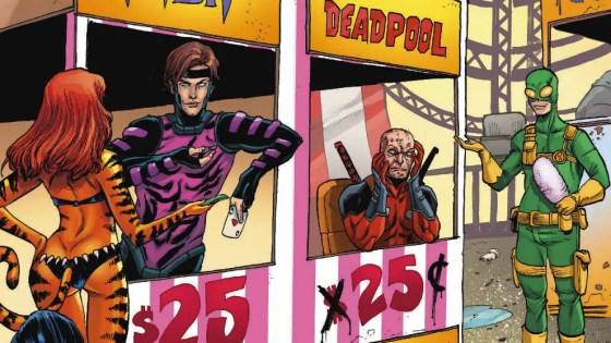 Marvel Preview: Deadpool v Gambit #1