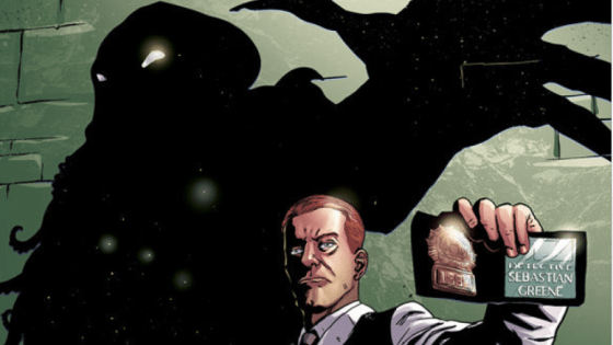 Next month brings us the debut of Weird Detective from Dark Horse Comics. The five issue mini-series by Fred Van Lente (writer) and Guiu Vilanova (artist) is a supernatural crime procedural infused with characters and ideas from H.P. Lovecraft's Cthulhu mythos. It is currently scheduled for release on June 15.
