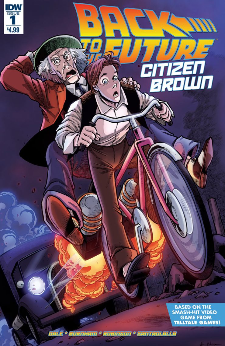 Back to the Future: Citizen Brown #1 Review