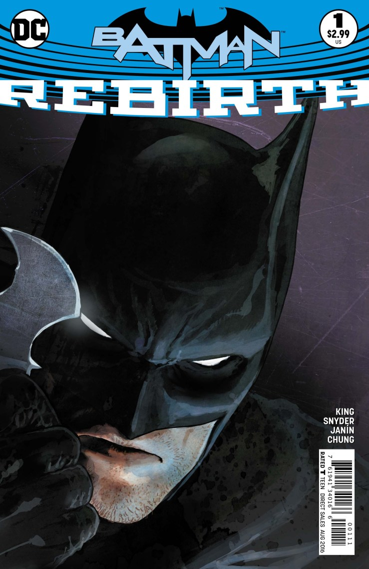 Batman: Rebirth #1 Review