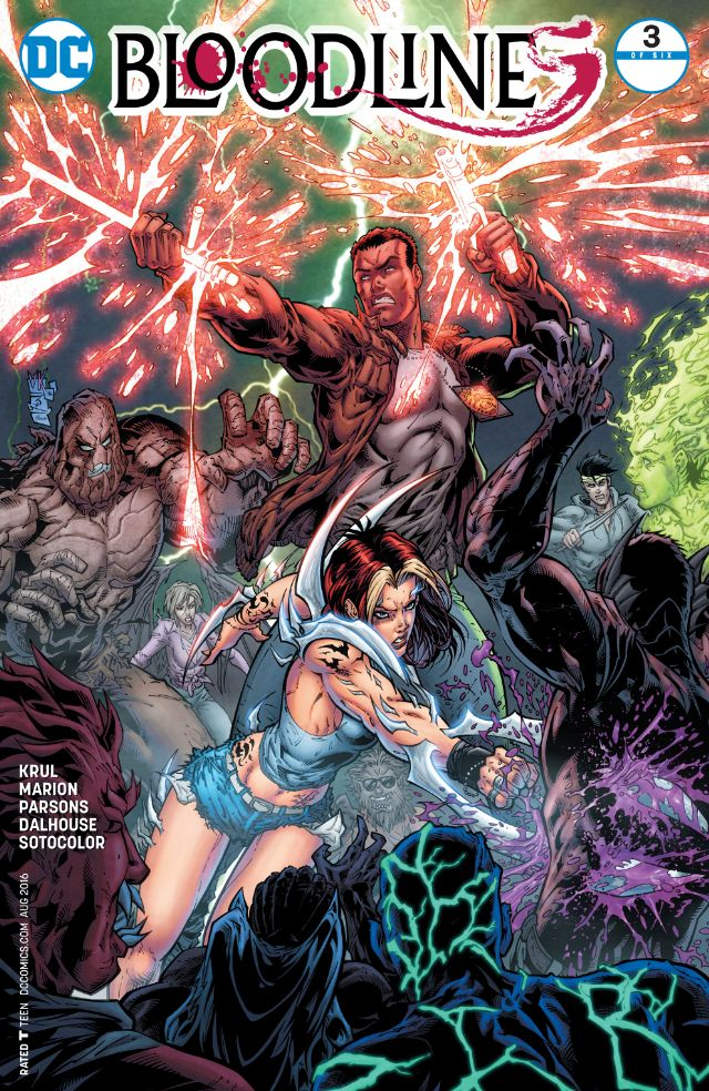 Bloodlines #3 Review