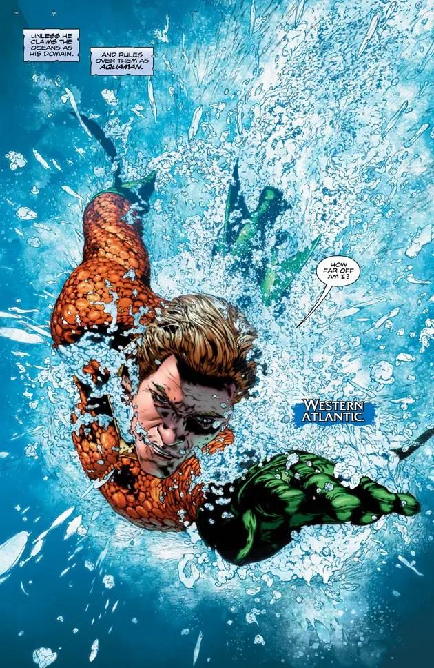 Aquaman: Rebirth #1 Review