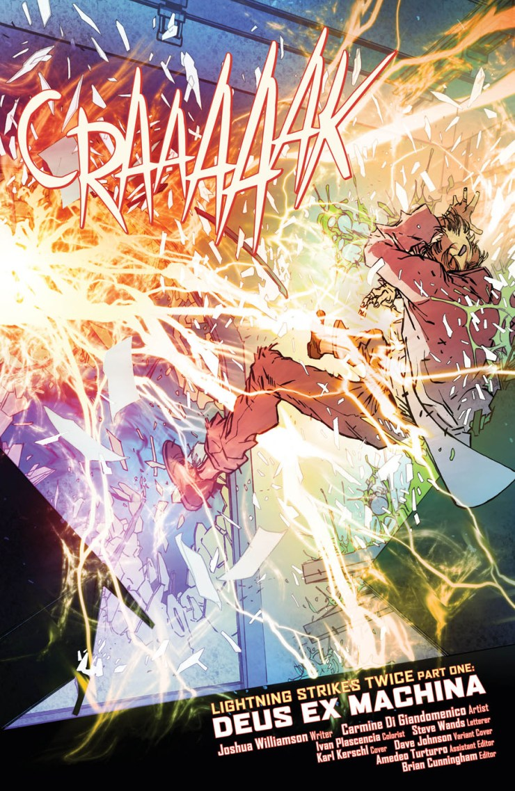 The Flash #1 Review