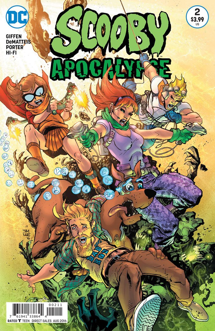 Scooby Apocalypse #2 Review