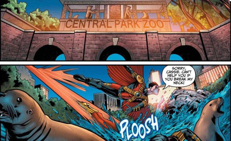 Teen Titans #21 Review