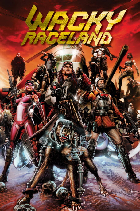 Wacky Raceland #1 Review