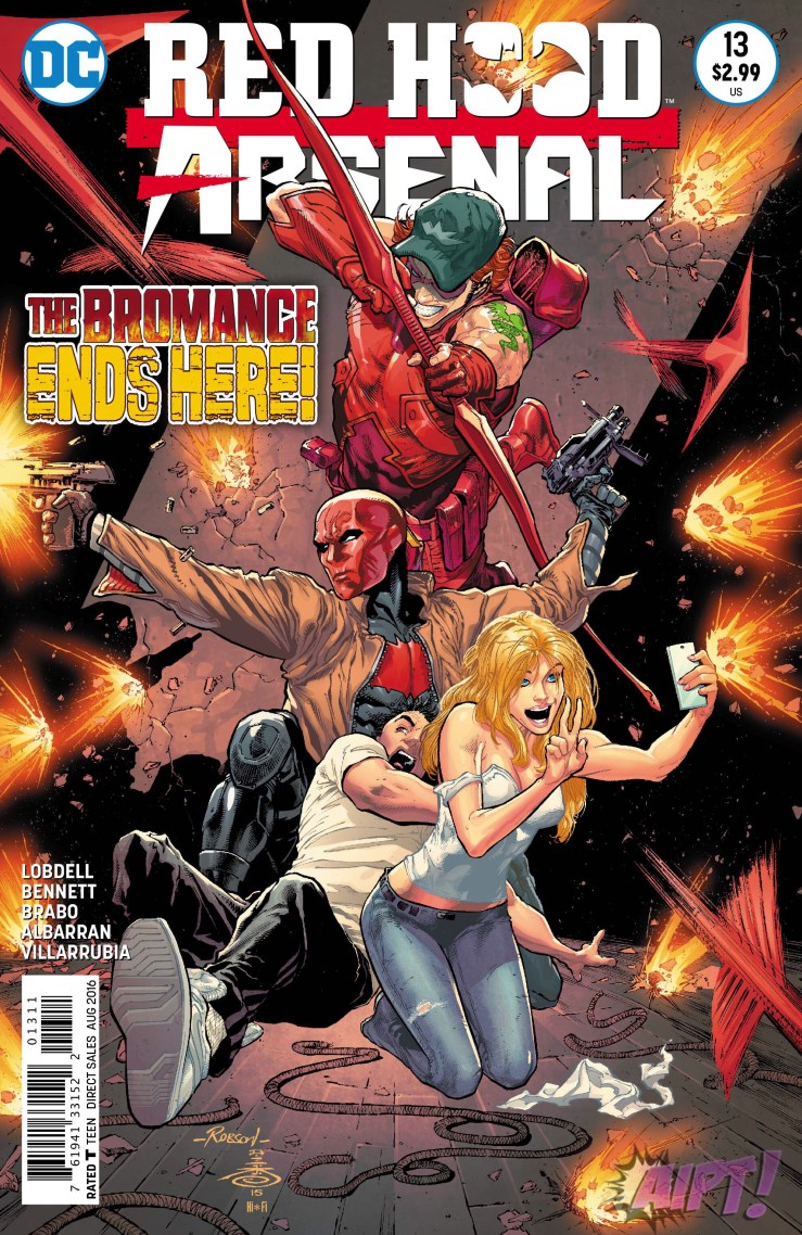 Red Hood/Arsenal #13 Review