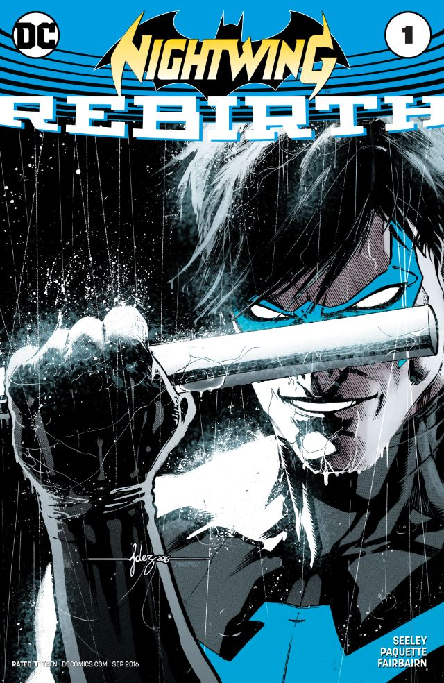 Agent 37 has been decommissioned and Nightwing is back! This issue shows us that transition, but is it good?